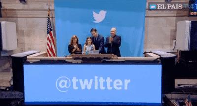 Twitter se dispara en su estreno en Bolsa