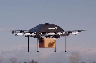 """Amazon Prime Air: tu próximo paquete puede llegar bajo las alas de un """"drone"""""""