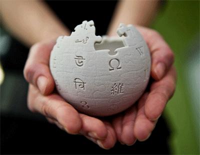 Wikipedia ya se puede descargar en inglés