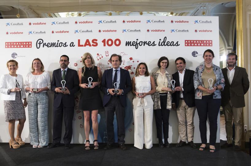 entrega premios 100 mejores ideas